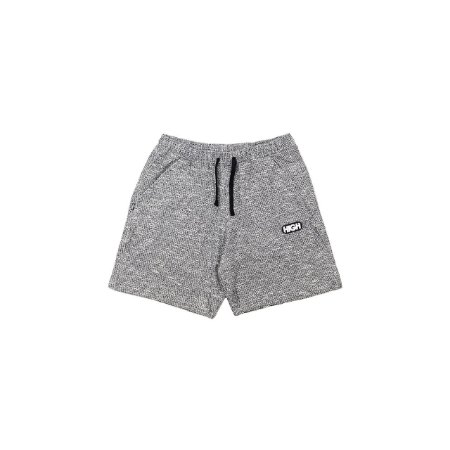 Shorts High Tweed Preto