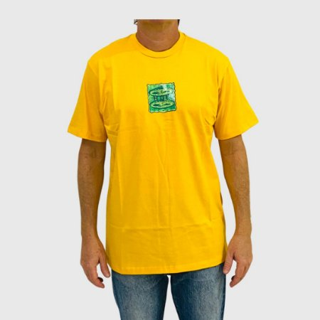Camiseta Huf UFO Amarelo
