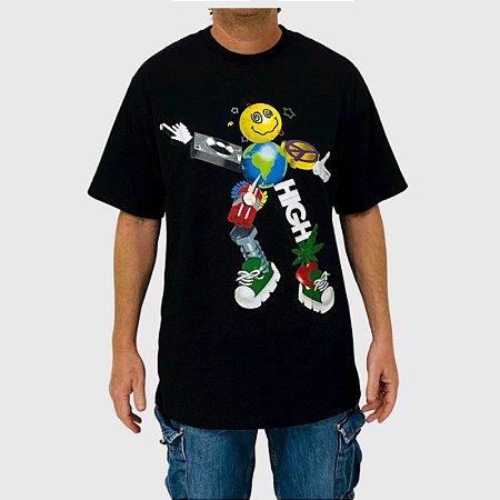 Camiseta High Zord Preto