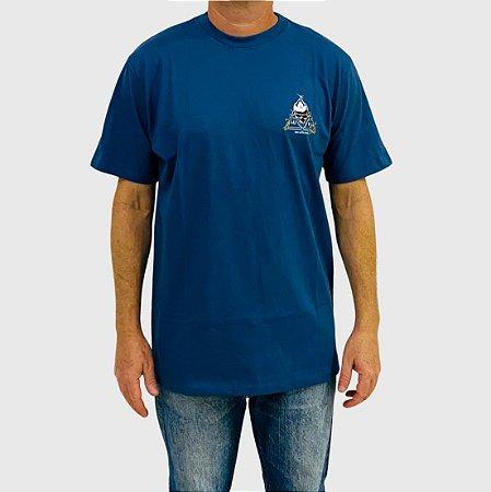 Camiseta Huf BLVD Azul Marinho