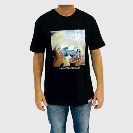 Camiseta Diamond Forever Preto