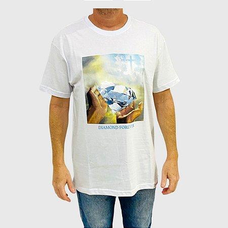 Camiseta Diamond Forever Branco