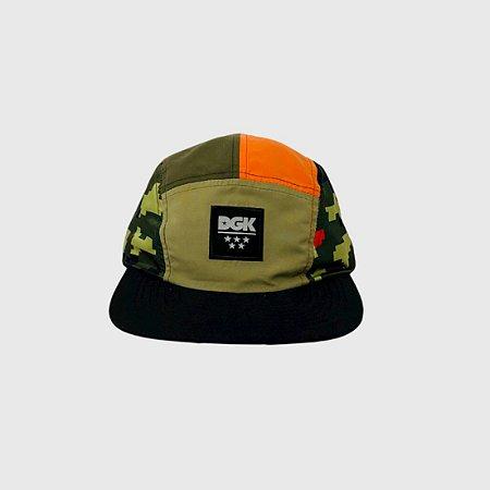Boné DGK Fusion Camper Hat Multicolorido