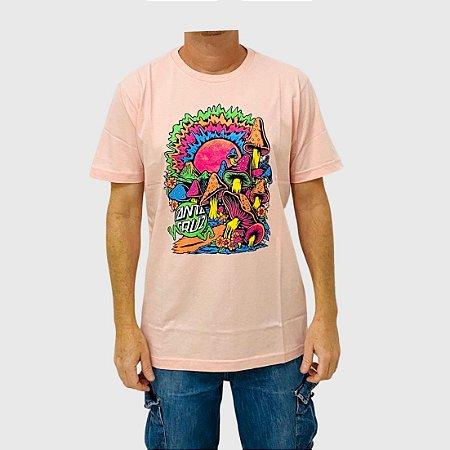 Camiseta Santa Cruz Toxic Wasteland Rosa