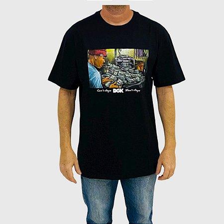 Camiseta DGK Math Preto