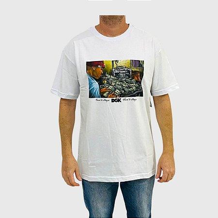 Camiseta DGK Math Branco