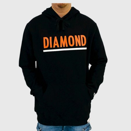 Moletom Diamond Team Preto