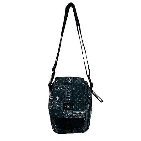 Shoulder Bag Dc Shoes Explorer Satchel 2 Preto/ Branco