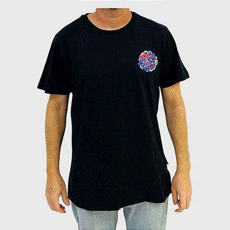 Camiseta Santa Cruz Strange Dot Preta