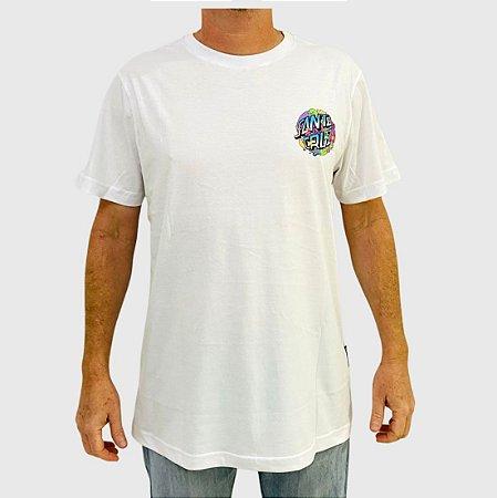 Camiseta Santa Cruz Strange Dot Branca