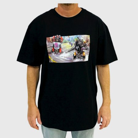 Camiseta DGK Riders Preto