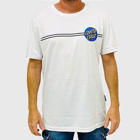 Camiseta Santa Cruz Obscure Dot Branco