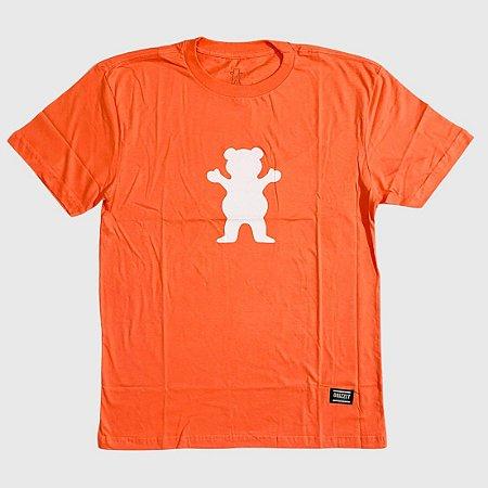 Camiseta Grizzly Og Bear Coral