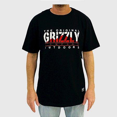 Camiseta Grizzly Rocky Mountain High SS Preto