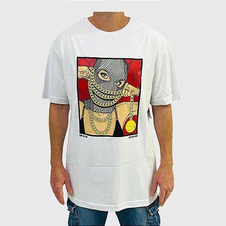 Camiseta DGK Chained Branco