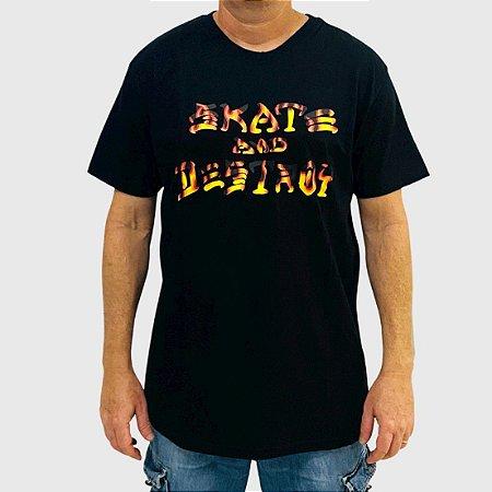 Camiseta Thrasher Sad BBQ Preto