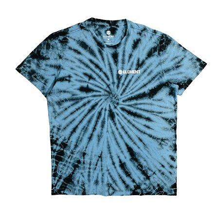Camiseta Element Blazin Chest Curl Azul