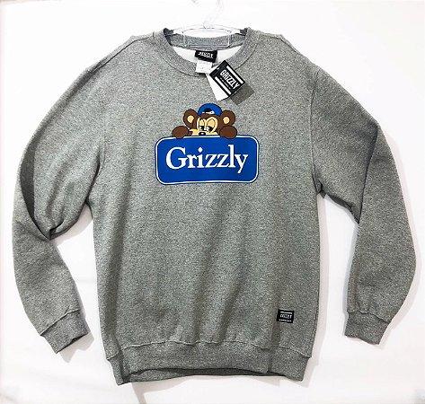 Moletom Grizzly Careca Tam GG