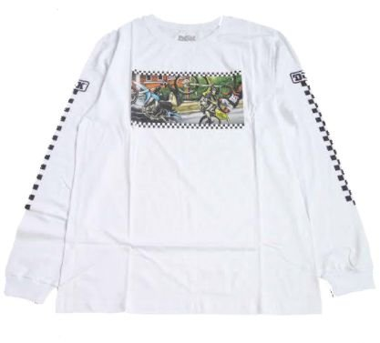 Camisa DGK Manga Longa Branca