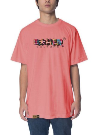 Camiseta Other Culture Japanese Salmon