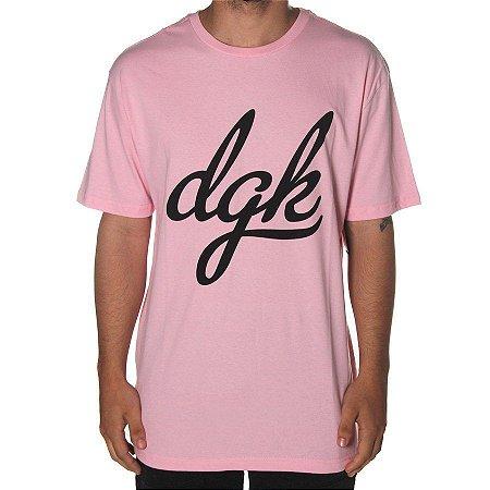Camisa DGK Script Pink