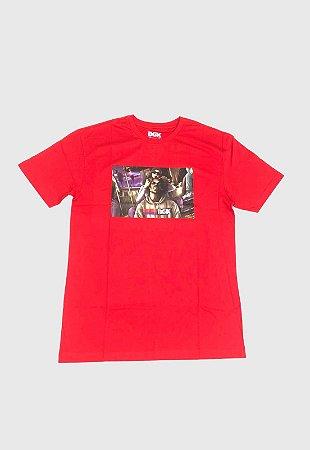 Camisa Dgk Braided Vermelho