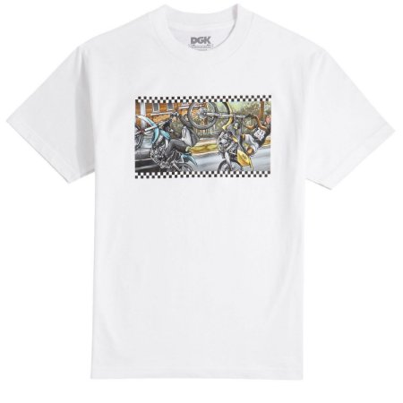 Camisa DGK Ride Or Die White