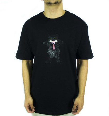 Camiseta Grizzly Trucker Black