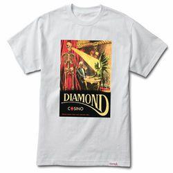 Camisa Diamond Casino White G