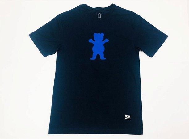 Camisa Grizzly OG Bear Tee Navy G