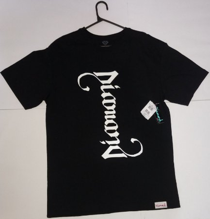 Camisa Diamond Double Read Tee Black G