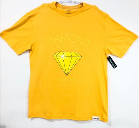 Camisa Diamond Classic Diamond Tee Gold G