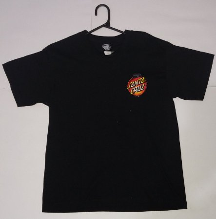 Camisa Santa Cruz Black kids