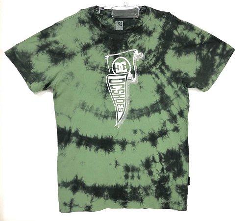 Camisa DC Esp Pennant Dye Verde Militar