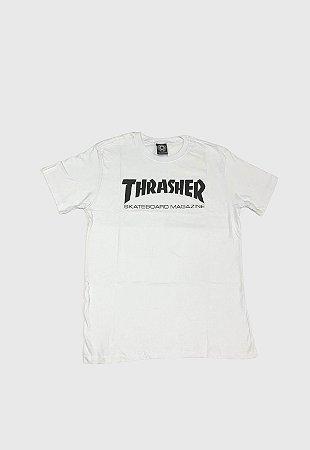 Camiseta Thrasher Magazine Branca