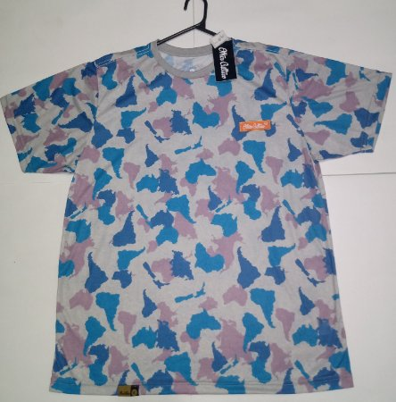 Camiseta Other Culture Camuflada Blue GG