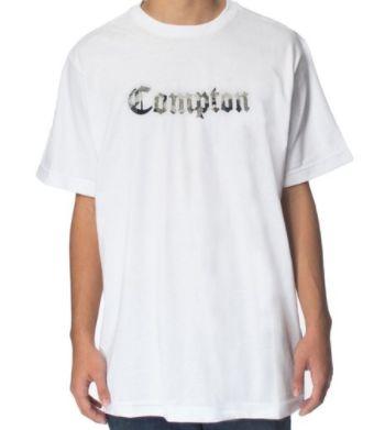 Camiseta Other Culture Compton Camo White