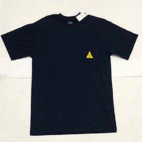 Camisa HUF Especial Triple Triangle Pocket Azul Marinho