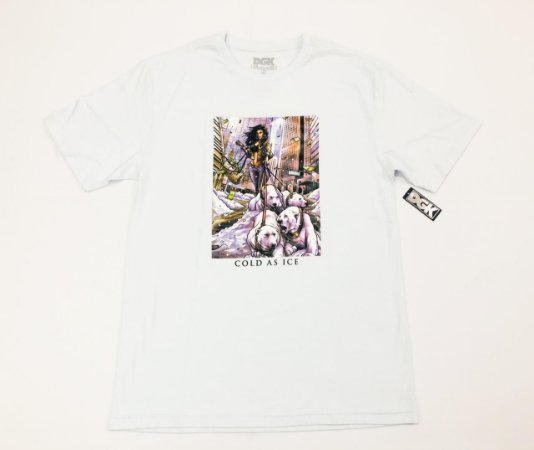 Camisa DGK Cold As Ice White G