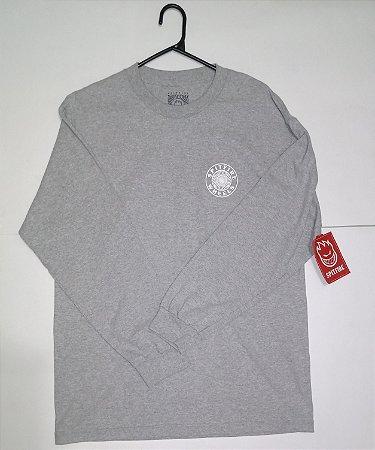 Camisa Manga Longa Spitfire Wheels Grey L (G)