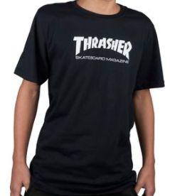 Camisa Thrasher Skate Mag Juvenil (Tam.: 12)
