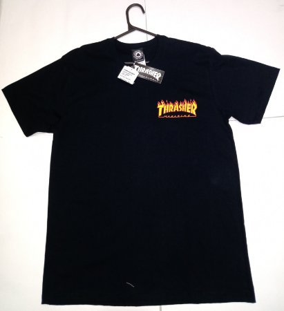 Camisa Thrasher Flame Bottom (Tam.: M)