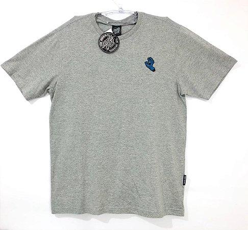 Camiseta Santa Cruz Screaming Hand Cinza Mescla M
