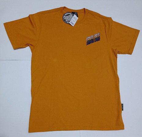 Camiseta Santa Cruz  Multi Strip Amarelo M