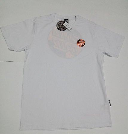 Camiseta Santa Cruz Crash Dot  Branco M