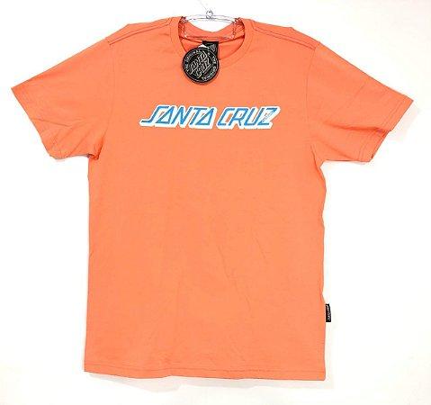 Camisa Santa Cruz Classic Strip Coral M
