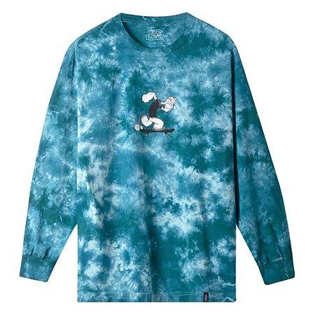 Camisa Manga longa Huf x Popeye Skates Tie Dye