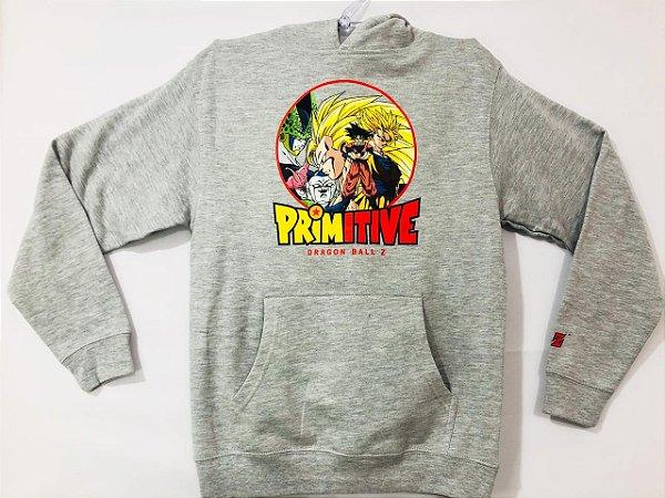 Moletom Primitive Dragon Ball Z Kids M