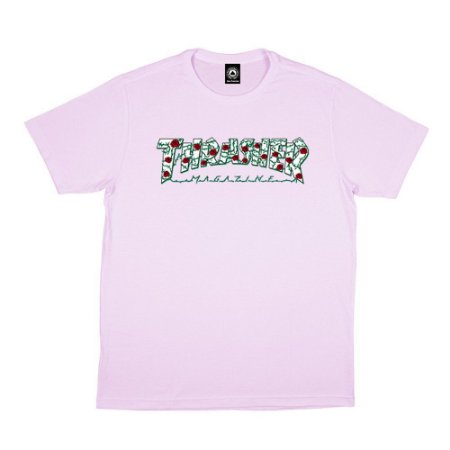 Camiseta Thrasher Roses Pink Original