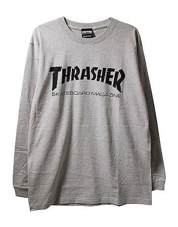 Camisa Thrasher Manga Longa Skate Mag Original